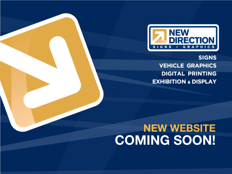 New Direction - Website Coming Soon!